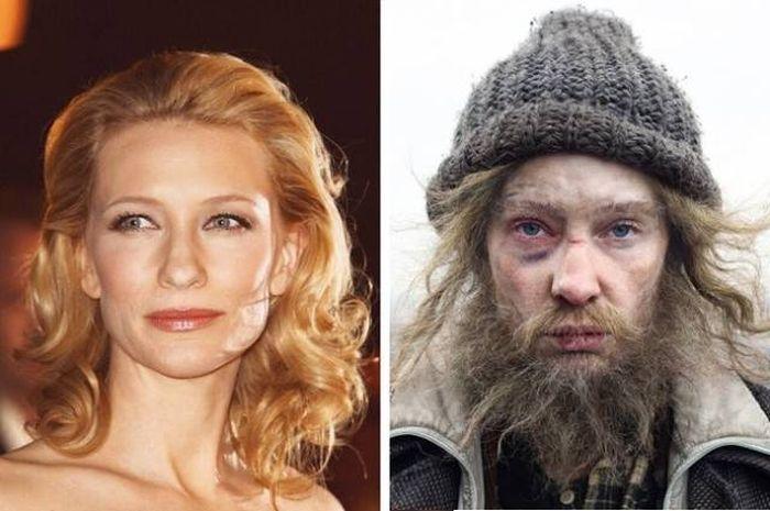 Актеры, которых сложно узнать в гриме (20 фото)