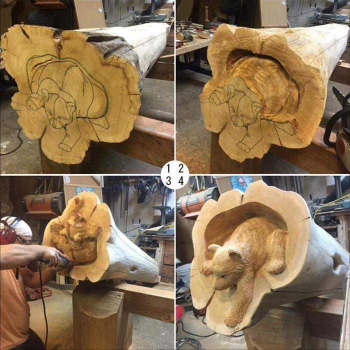 Великолепные изделия из дерева (33 фото)
