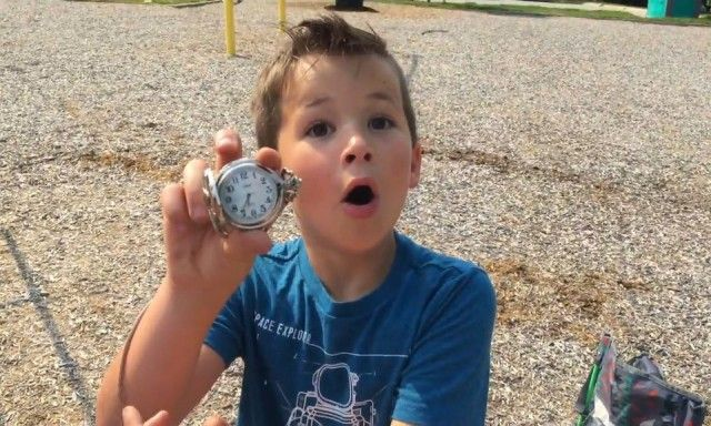 Дети нашли клад (8 фото + видео)