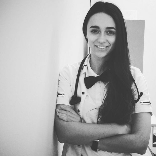 Виктория Гамеева - очаровательный врач клиники спортивной медицины в Лужниках (17 фото)