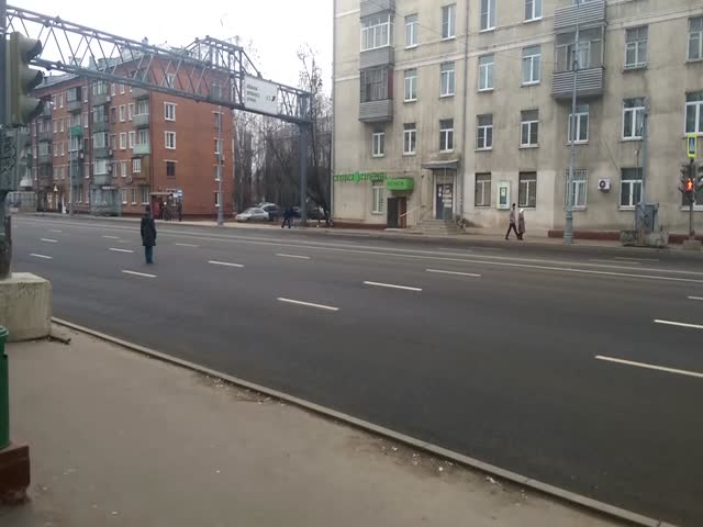Опасный пешеходный переход в Кунцево