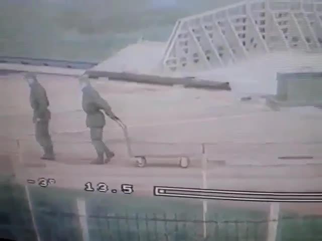 Сдача норм по физической подготовке в армии