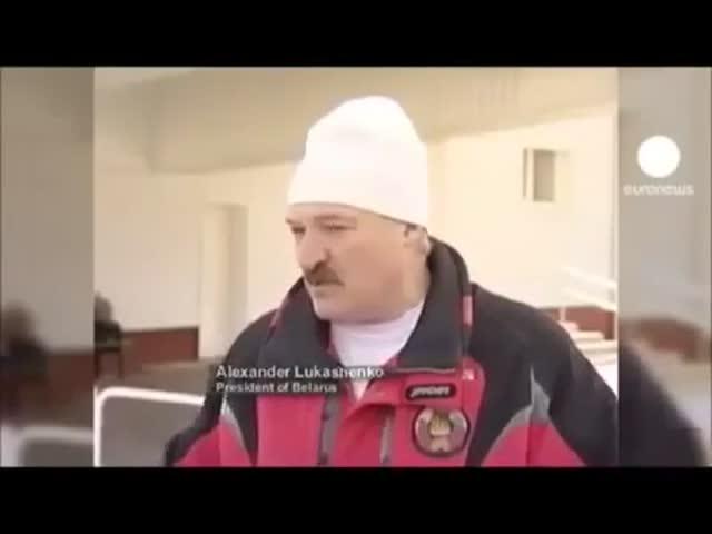 Александр Лукашенко привык говорить правду