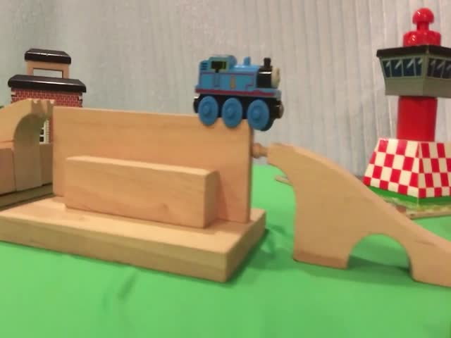 Зрелищная поездка паровозика Томаса