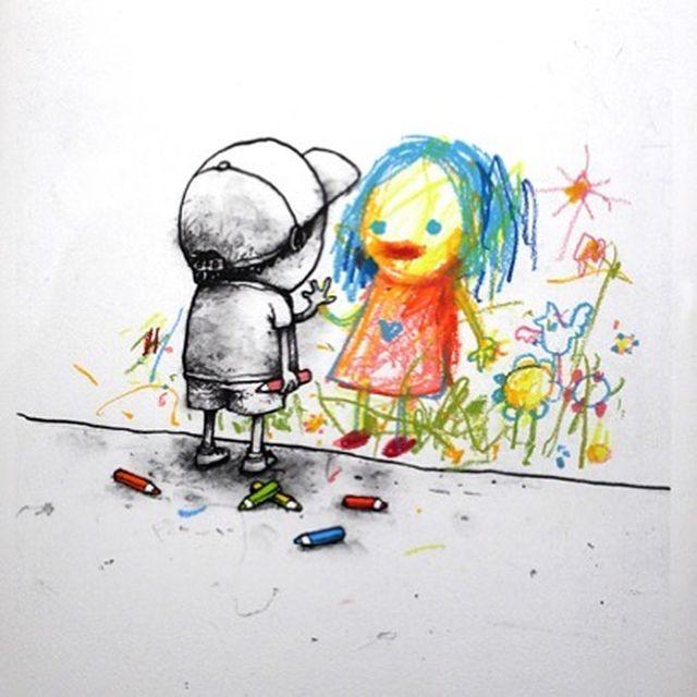 Граффити от «французского Бэнкси» (29 рисунков)