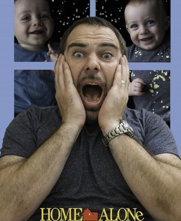 Отец превратил процесс воспитания близнецов в забавный фотопроект (15 фото)