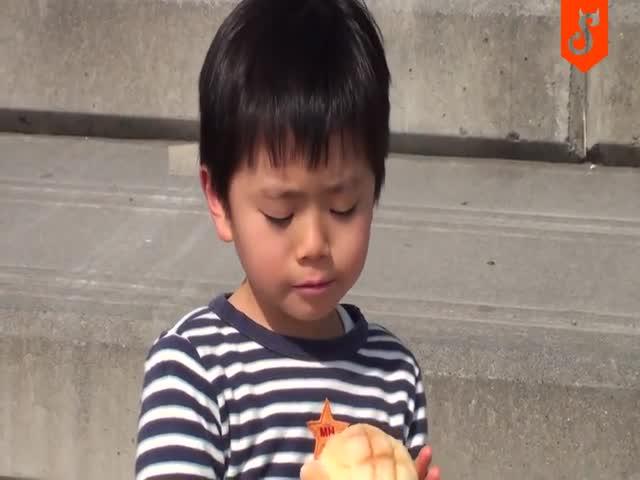 Мальчика оставили без булочки
