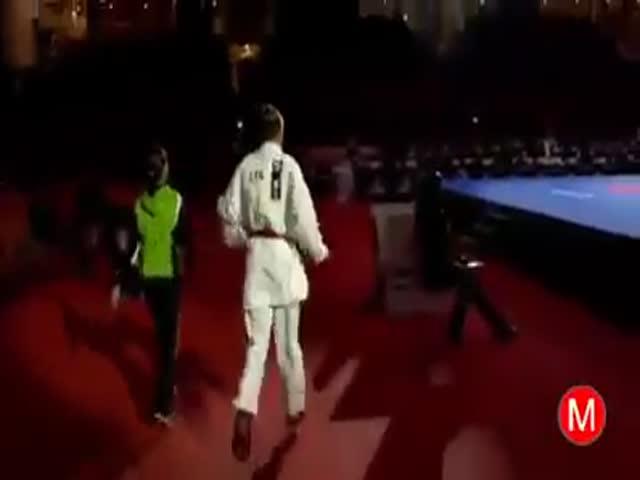 «Жесткий» бой в карате