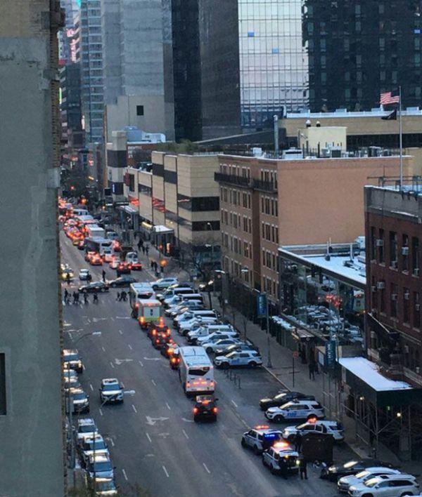 В Нью-Йорке произошел взрыв на автовокзале Порт-Аторити