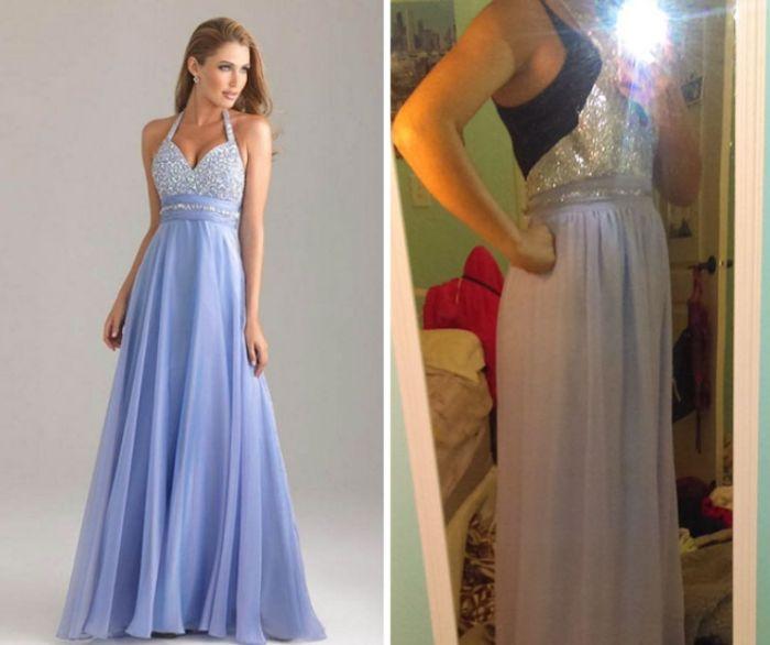 Платья в интернет-магазинах: ожидания и реальность (23 фото)