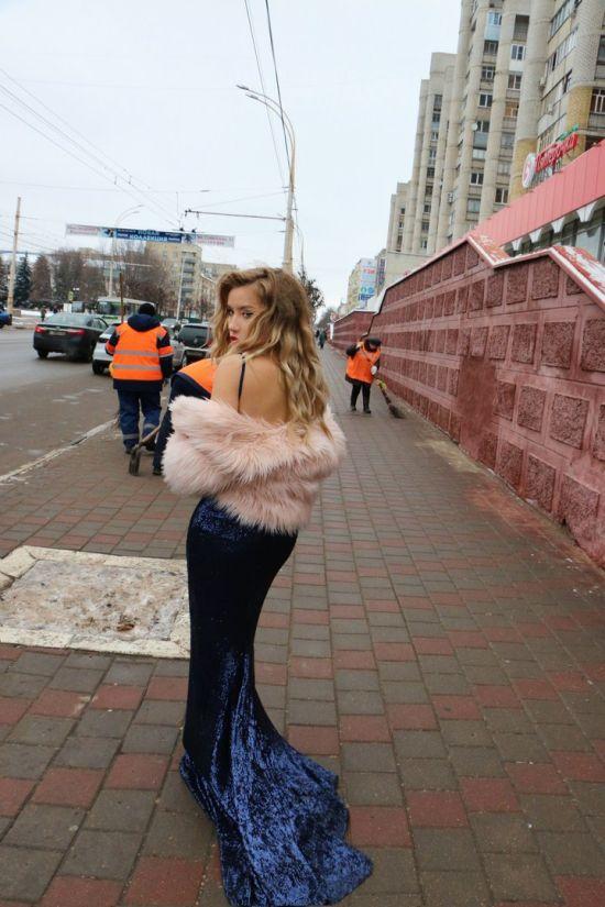 Модная фотосессия в общественных местах Тамбова (14 фото)