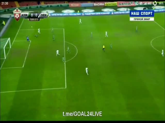 Александр Кокорин не забил с метра в пустые ворота