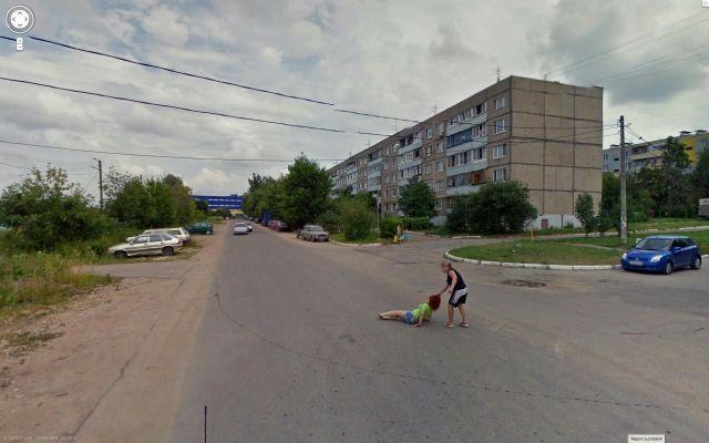 Google Street View проливает свет на жизнь российской провинции (4 фото)
