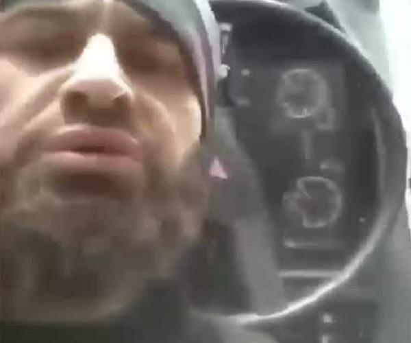 Видео на память с места ДТП