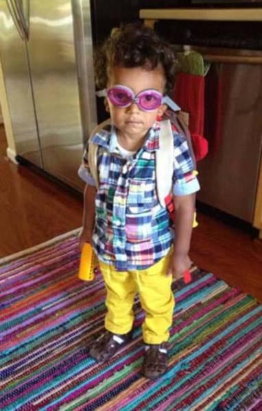 Когда дети одеваются так, как они хотят сами (27 фото)