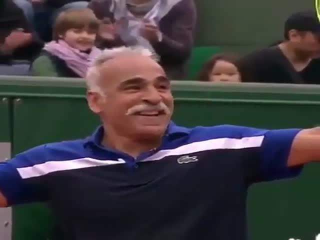 Хитрость в большом теннисе