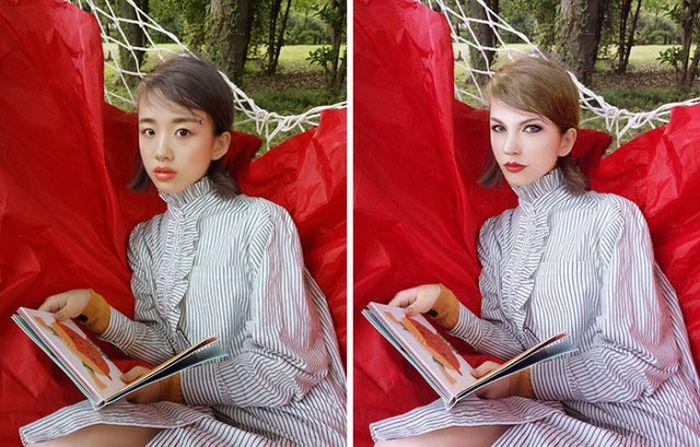 Почему не стоит верить фотографиям девушек из соцсетей (29 фото)