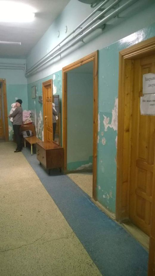 Так выглядит детская государственная поликлиника Вышнего Волочка (6 фото)