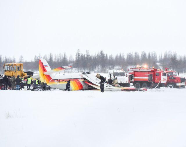 В аэропорту Нарьян-Мара разбился пассажирский самолет Ан-2