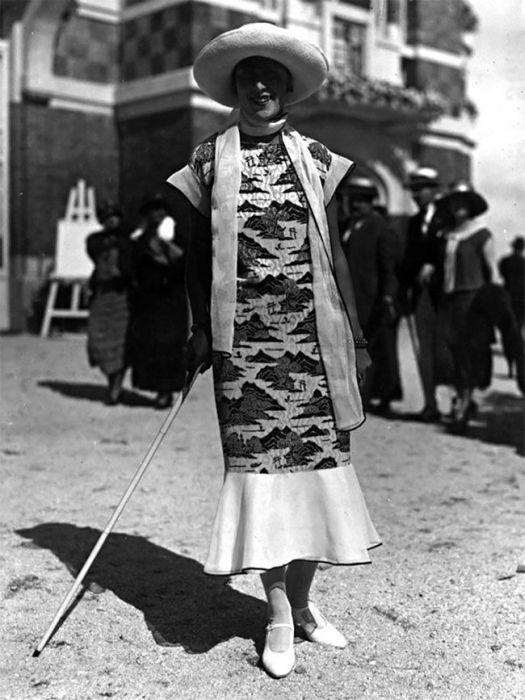 Модницы 20-х годов прошлого столетия (40 фото)