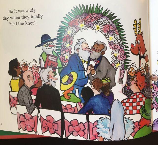 Автора книги о Санта-Клаусе гее подвергли травле (2 фото)