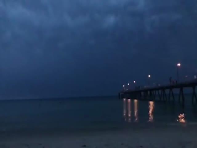Танец молний в Австралии