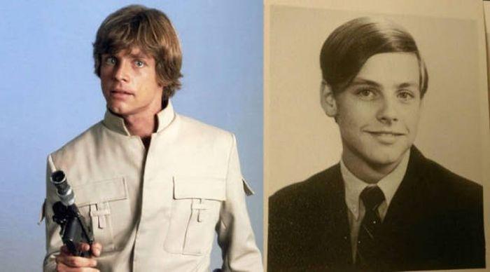Актеры «Звёздных войн» в юношестве или детстве (37 фото)