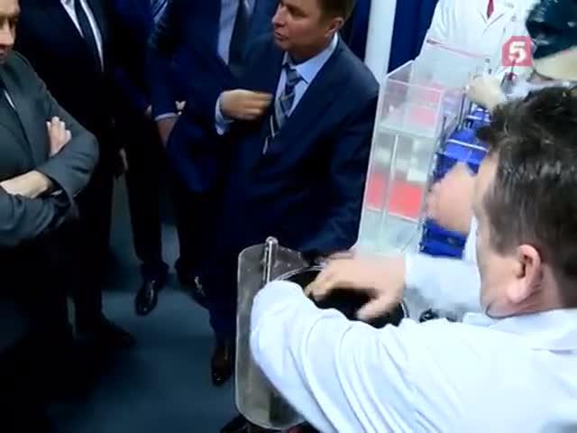 Дмитрий Рогозин «утопил» таксу на встрече с президентом Сербии Александром Вучичем