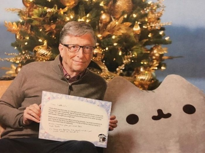 Билл Гейтс вновь стал «тайным Сантой» (3 фото)