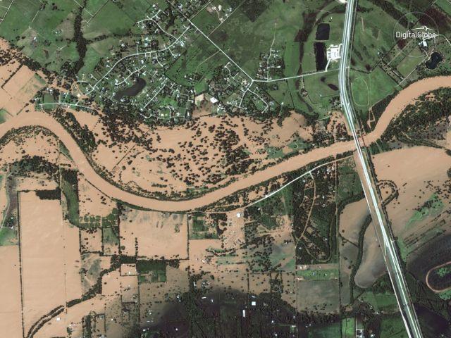 События 2017 года на спутниковых снимках (16 фото)
