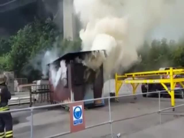 Черный выход и пожар