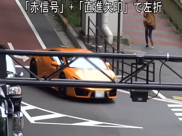 Велополицейский догнал водителя суперкара Lamborghini Huracan