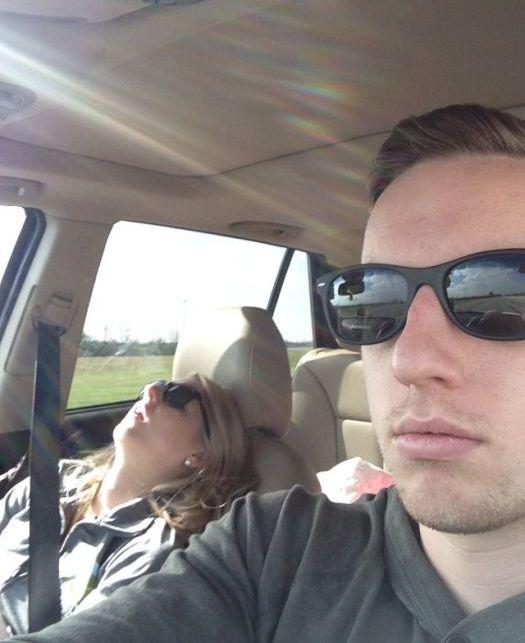 Веселые поездки с женой (21 фото)