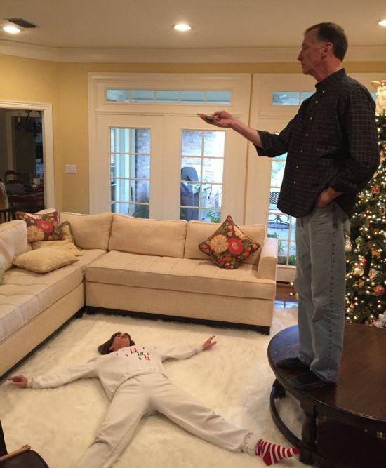 Рождественская фотосказка о любви (3 фото)