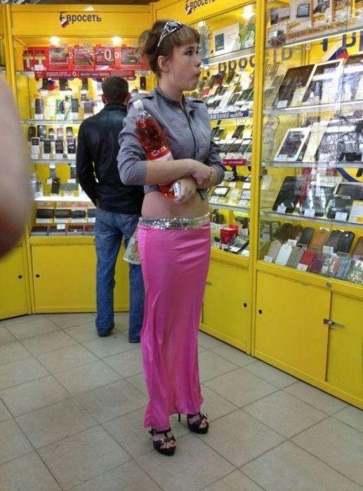 Люди, у которых тяга к «высокой» моде (30 фото)