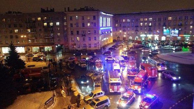 Взрыв в супермаркете в Санкт-Петербурге