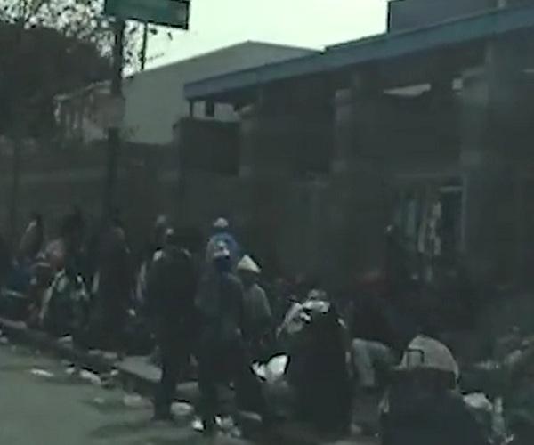 Бездомные Лос-Анджелеса