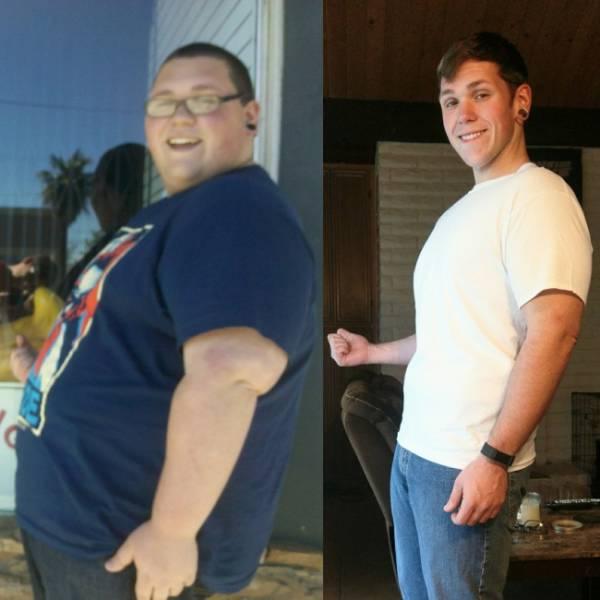 Люди, поборовшие ожирение (21 фото)