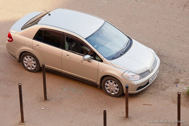 Наказание за хамскую парковку (4 фото)