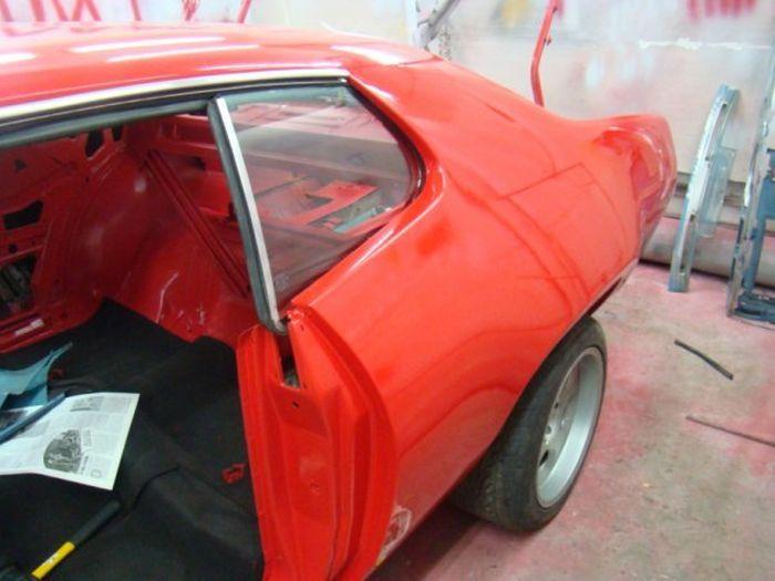 Фотоотчет о реставрации маслкара Plymouth Roadrunner 1971 года (22 фото)
