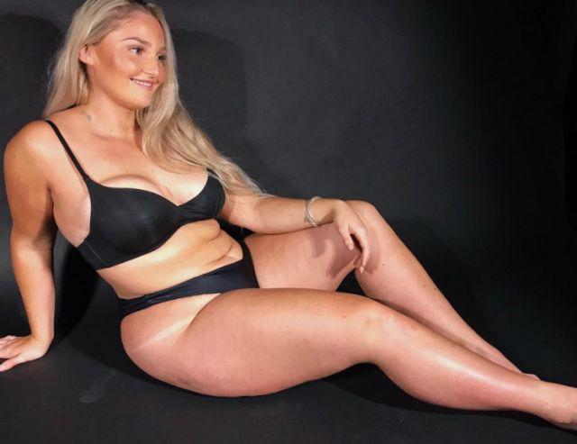 Вегетарианка располнела до 115 кг, после чего начала худеть (5 фото)