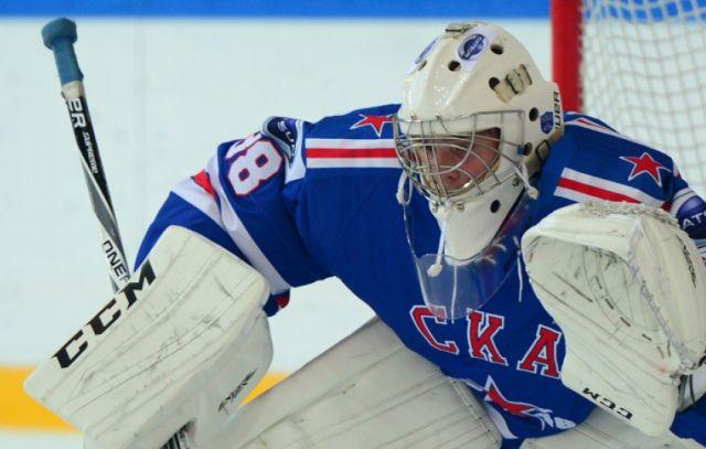 Алексей Мельничук - новый вратарь хоккейного клуба СКА (2 фото)