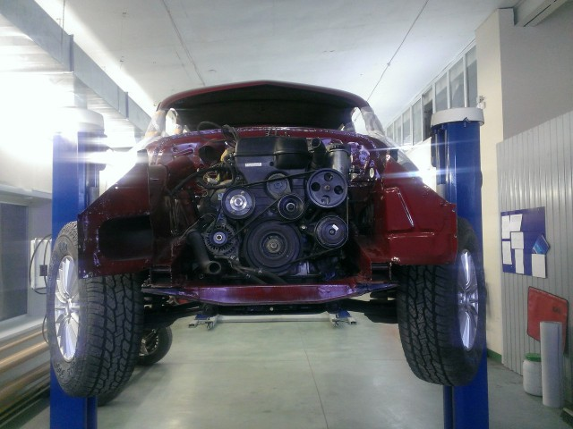 Фотоотчет о реставрации ЗИМ (ГАЗ-12) 1954 года выпуска (54 фото)