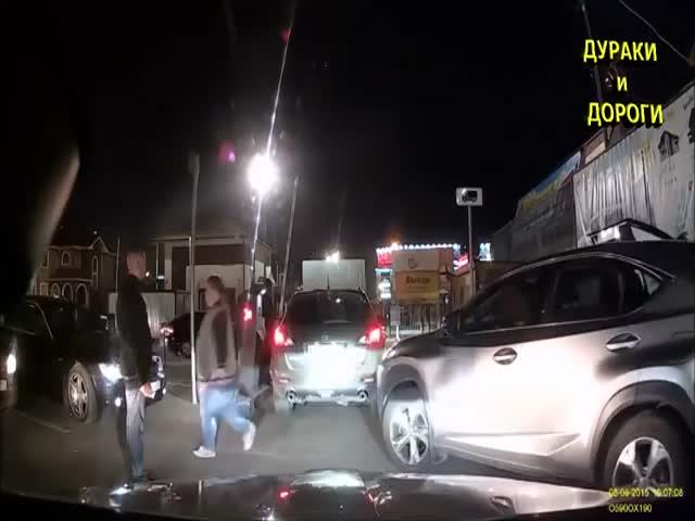 Драки, конфликты и прочие происшествия на дорогах