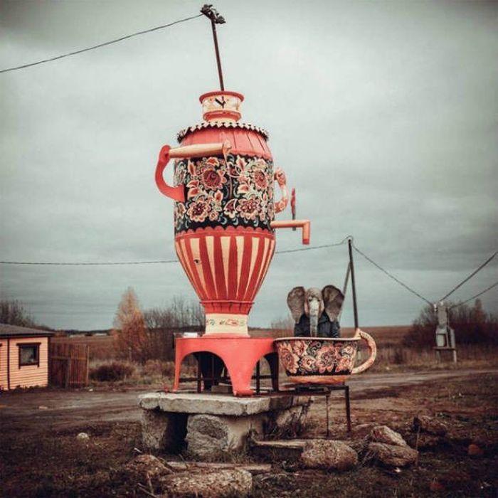 Странные и забавные фото из России (38 фото)