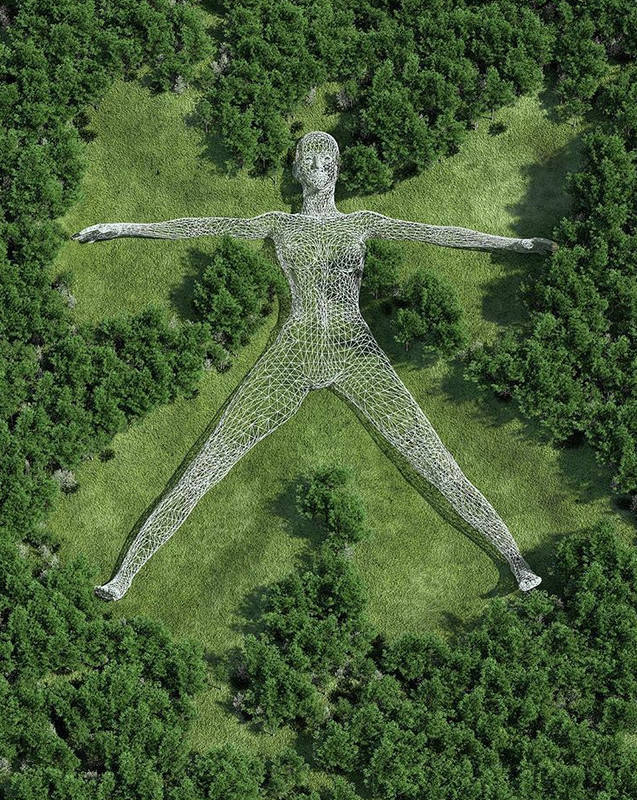Зарисовки скульптур, потрясающие своим великолепием (23 фото)