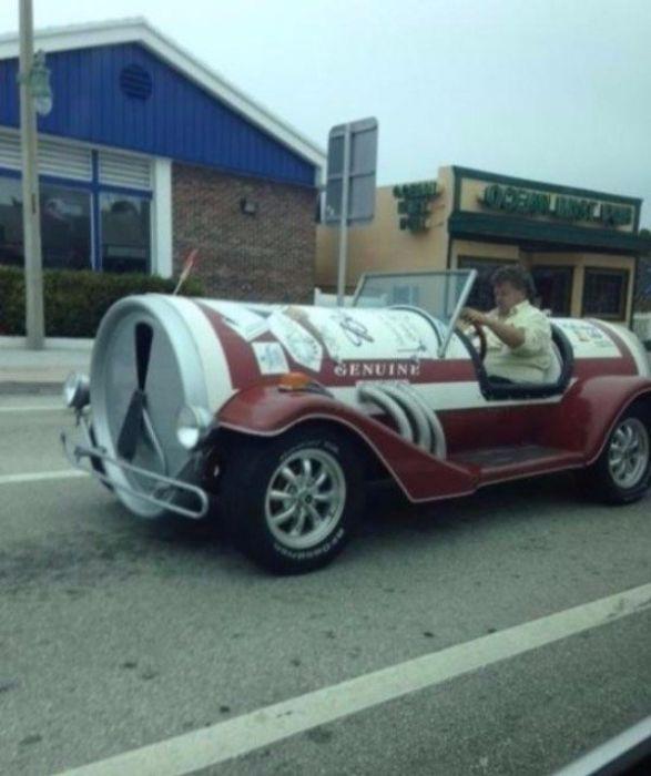 Странные автомобили (29 фото)