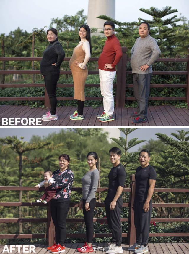 Преображение целой семьи (18 фото)