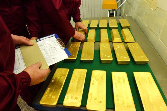 Главное золотохранилище Центробанка России (23 фото)