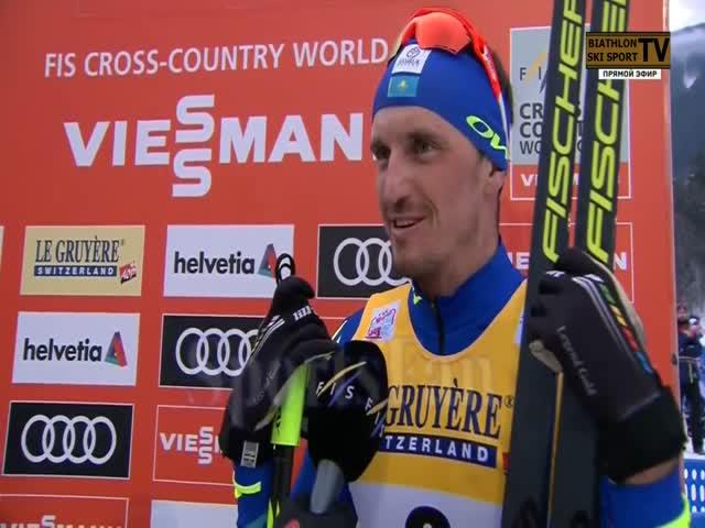 Эпичное интервью казахстанского лыжника Алексея Полторанина
